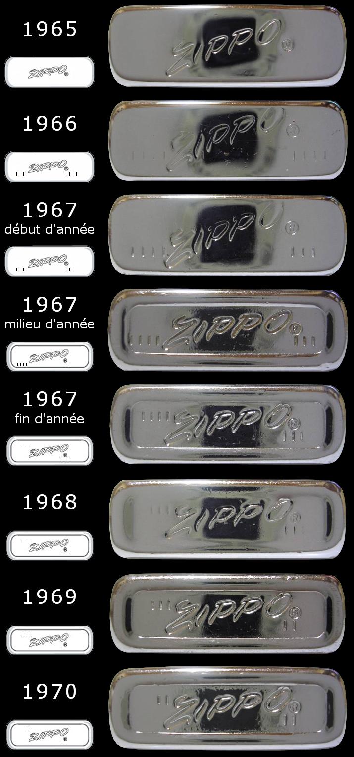 Datation - [Datation] Les Zippo Slim 1965-1970-525caaa