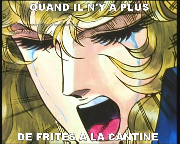 Mes memes Lady Oscar et autres images humoristiques - Page 3 Frites-54377dd