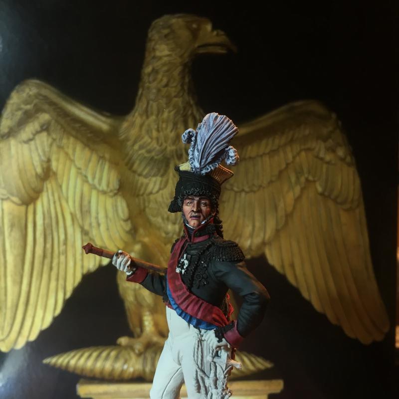Murat en tenue de colonel des chevau-légers de sa garde. Murat6-5166fc8
