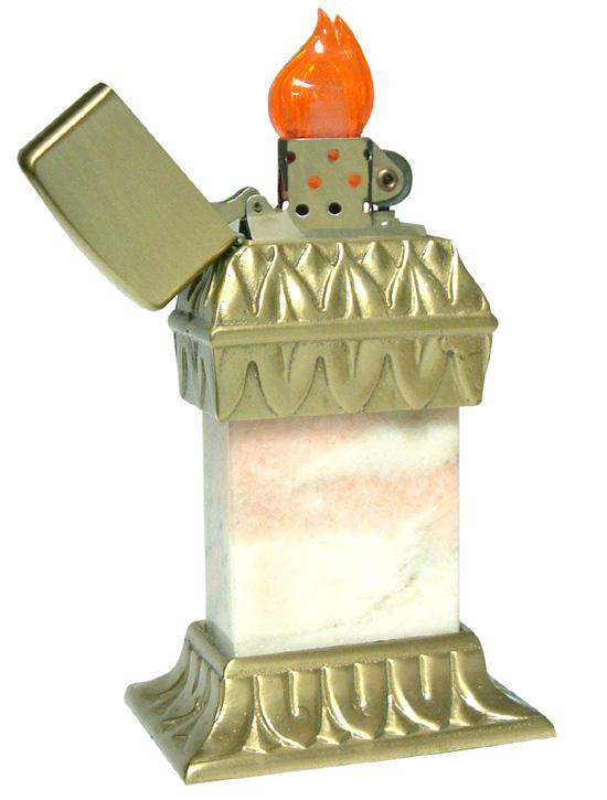 Datation - [Datation] Les Zippo Table Lighter Roseart-prototype-526938b