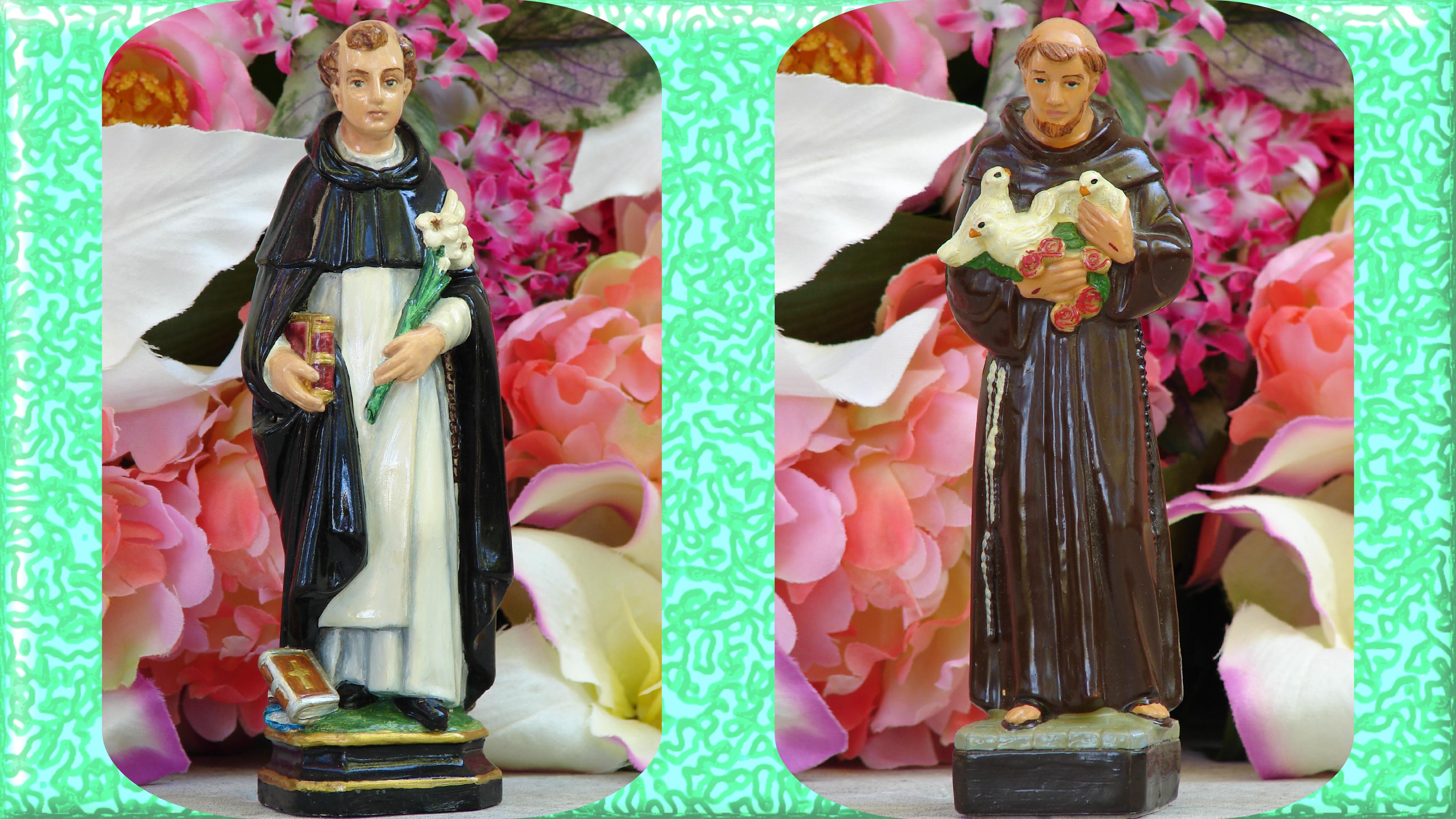 CALENDRIER CATHOLIQUE 2019 (Cantiques, Prières & Images) - Page 5 St-dominique-st-fran-ois-56753c5
