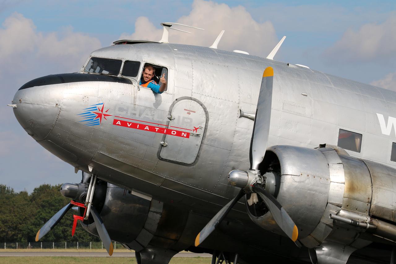 Chalair Dakota Air Tour 2016-Escale sur l'aéroport de Rennes Sz1-5076a90