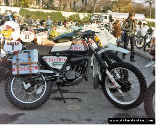 125 DTMX du Dakar. 2134-49e6bf2