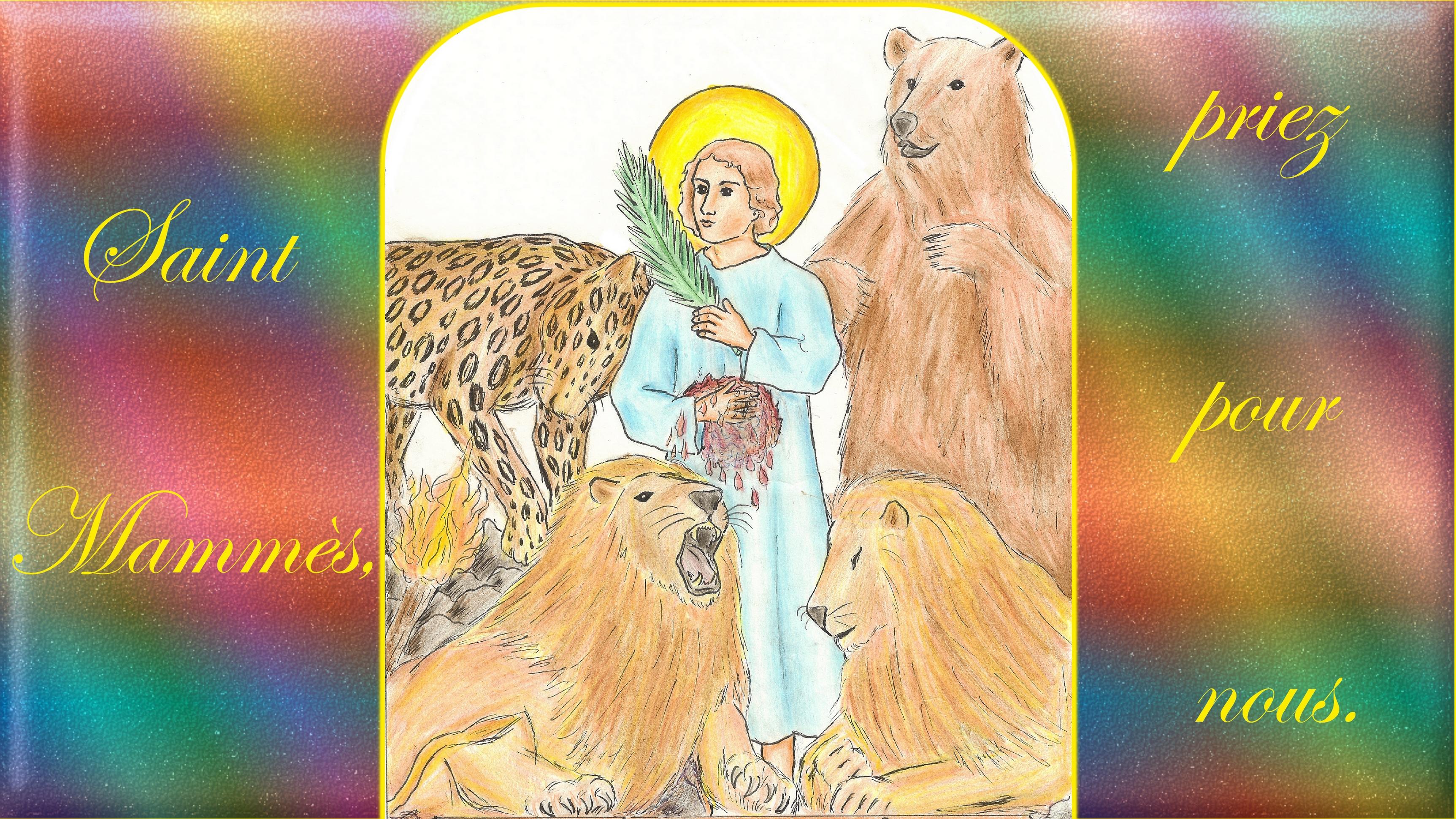 CALENDRIER CATHOLIQUE 2019 (Cantiques, Prières & Images) - Page 6 St-mamm-s-567961e
