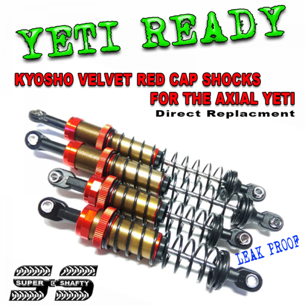 Amortisseurs YETI une alternative ... Yeti-ready-red-cap-shocks-48a0130