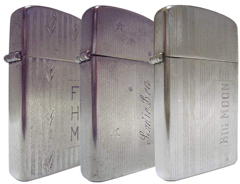 Datation - [Datation] Les Zippo Sterling Silver Silver-filled-slim-52427ac