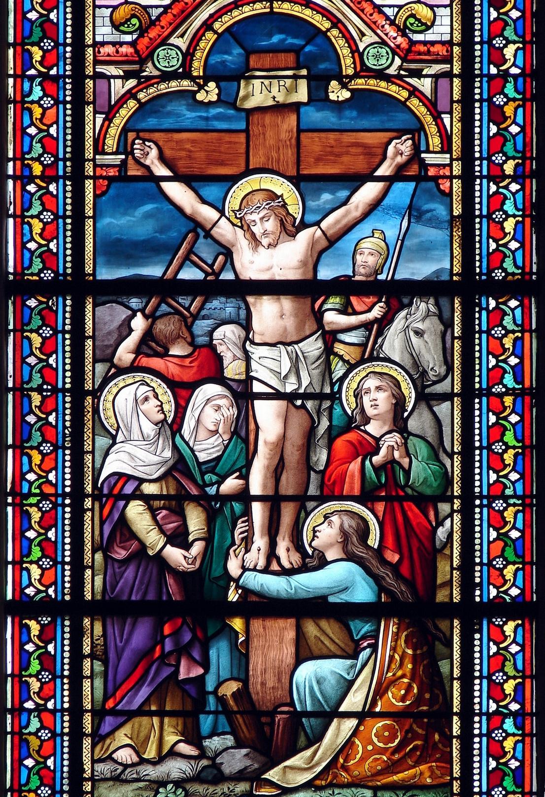 La PASSION selon Saint MARC Le-crucifiement-4--561751d