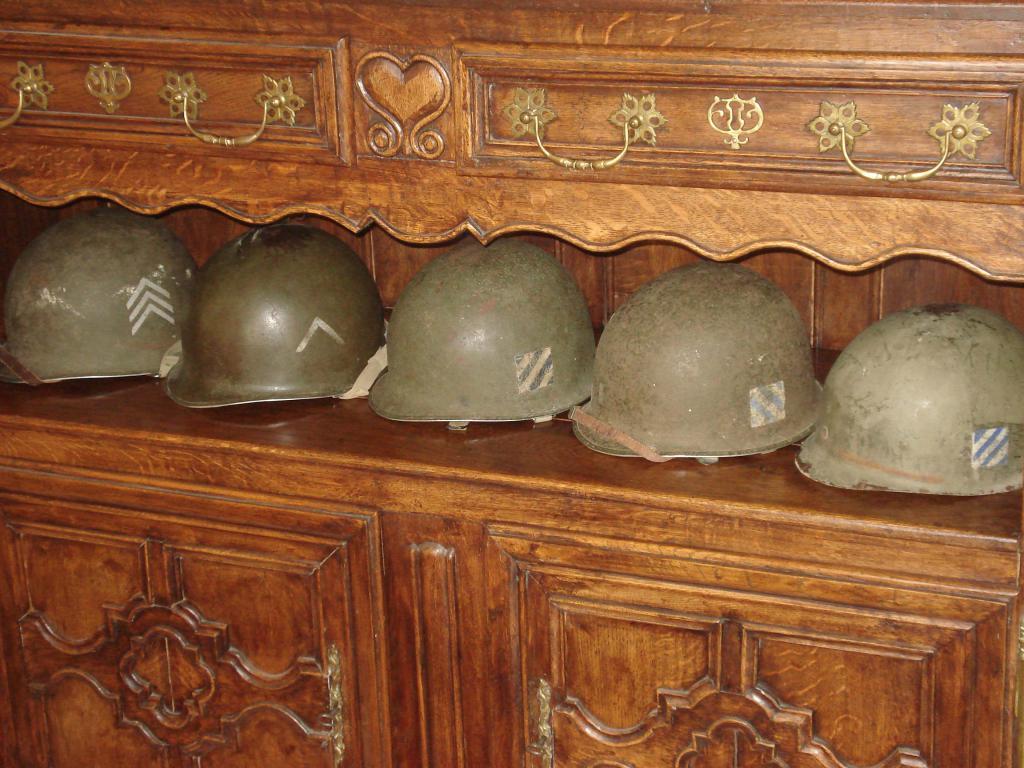 Petite famille de casque M1 tous des vosges. 002-4faaba2