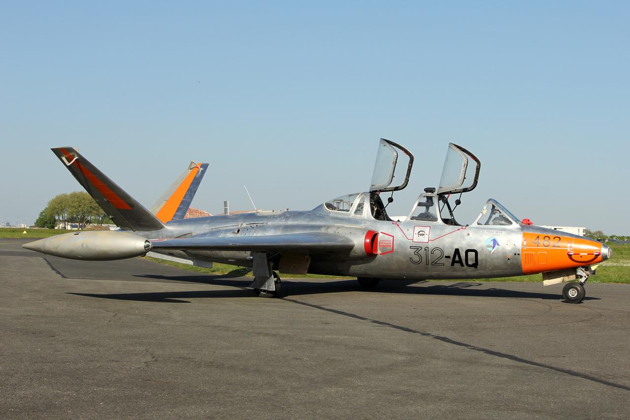 Coupe GIFAS 2017 - Fouga N° 482 du musée aéronautique de Bretagne Sz1--52476d6