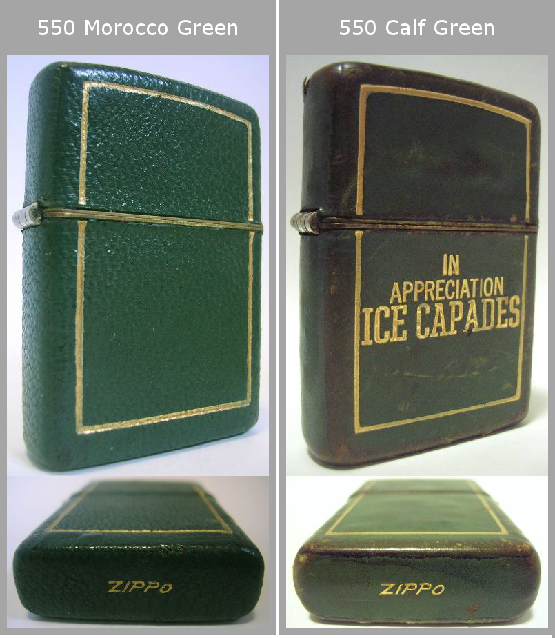 Datation - [Datation] Les Zippo Leather Crafted (Cuir) 1950-1951-4--525f394