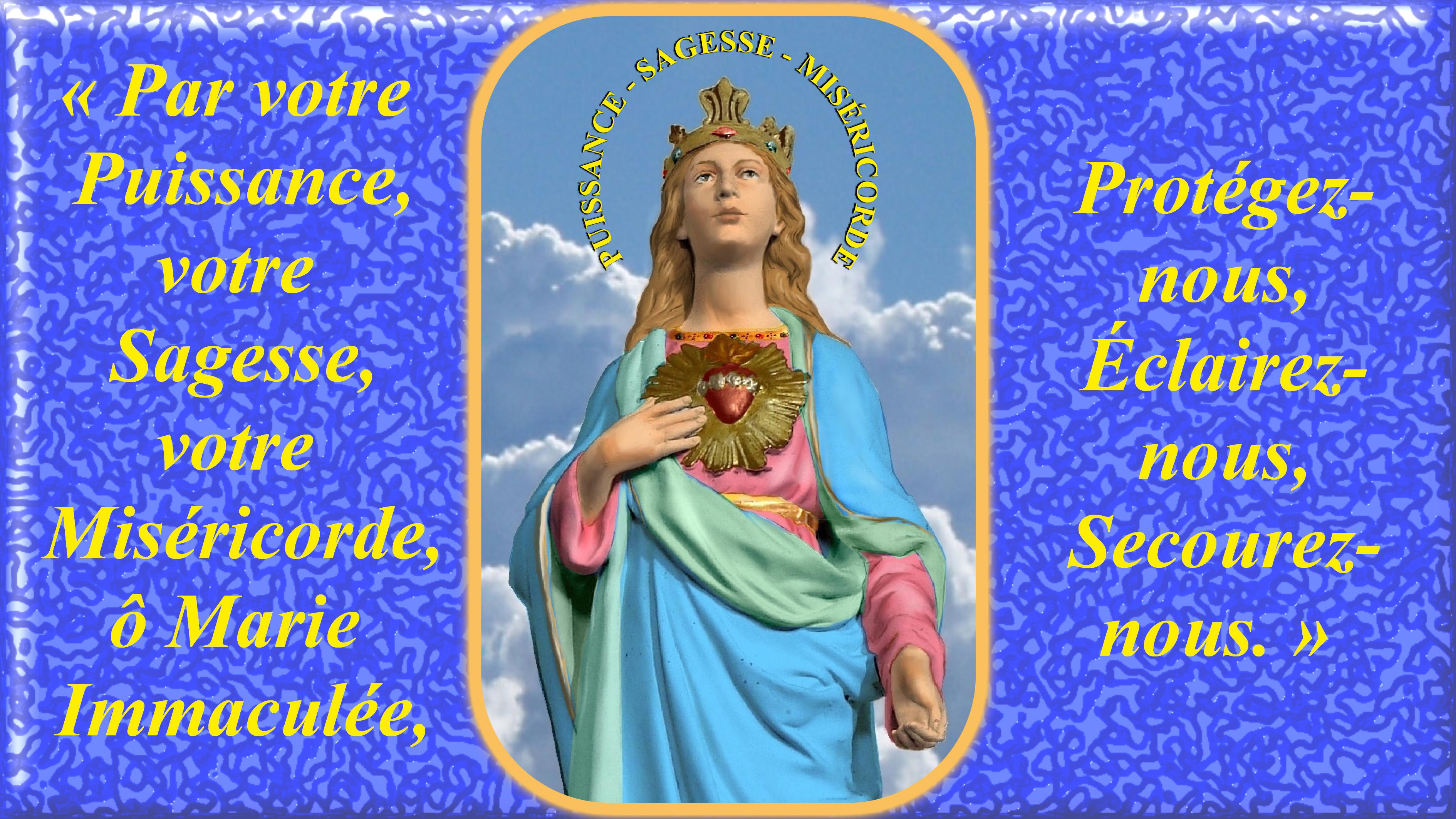 Le CIEL OUVERT par les 3 AVE MARIA du MATIN et du SOIR & La NEUVAINE EFFICACE Notre-dame-des-3-ave-maria-556ee9b