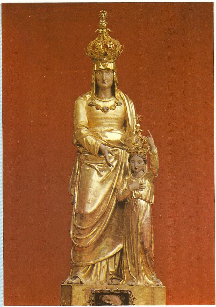 CALENDRIER CATHOLIQUE 2019 (Cantiques, Prières & Images) - Page 3 Sainte-anne-d-auray-statue--5667228