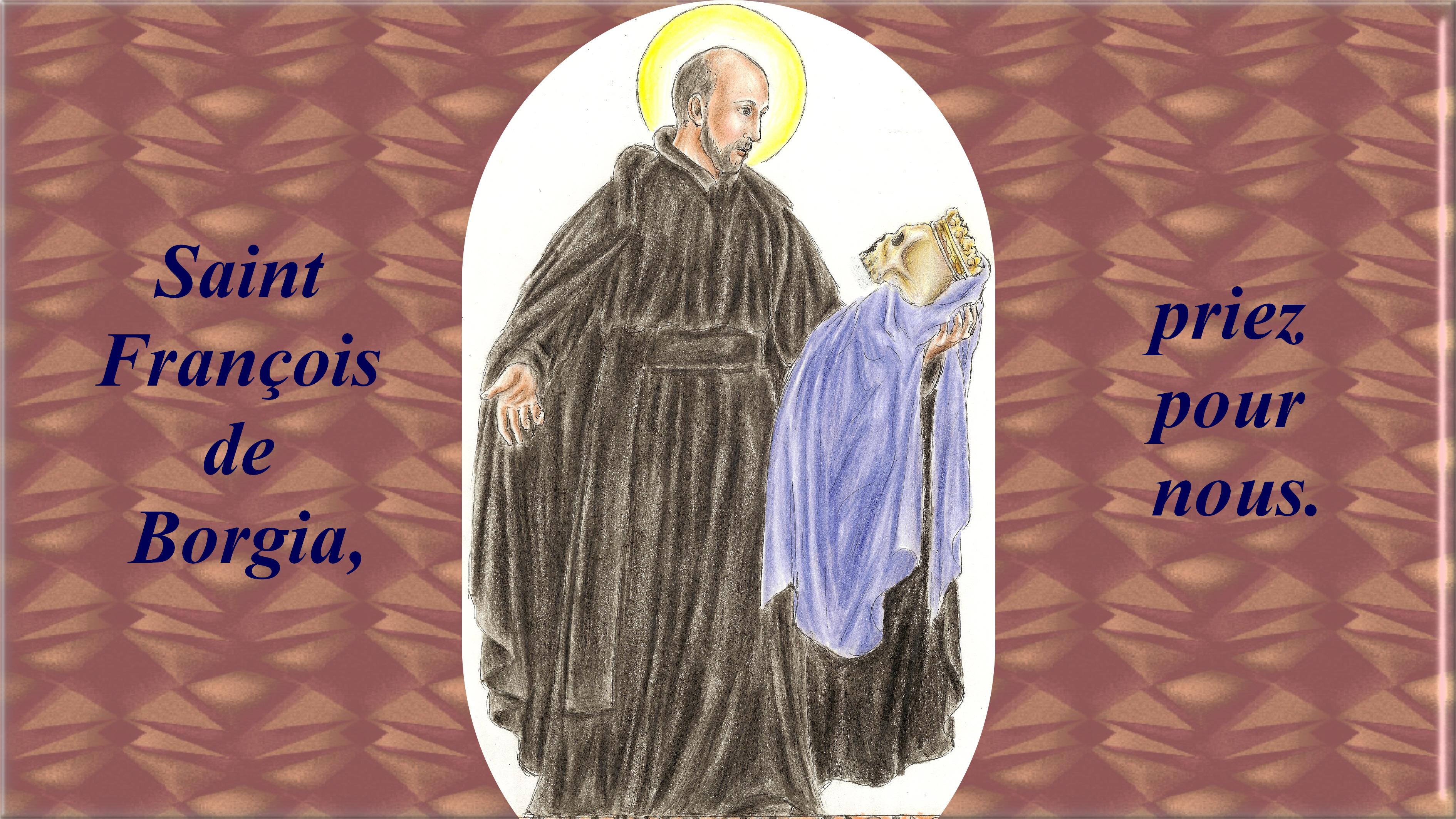 CALENDRIER CATHOLIQUE 2019 (Cantiques, Prières & Images) - Page 11 St-fran-ois-de-borgia-56a60c3