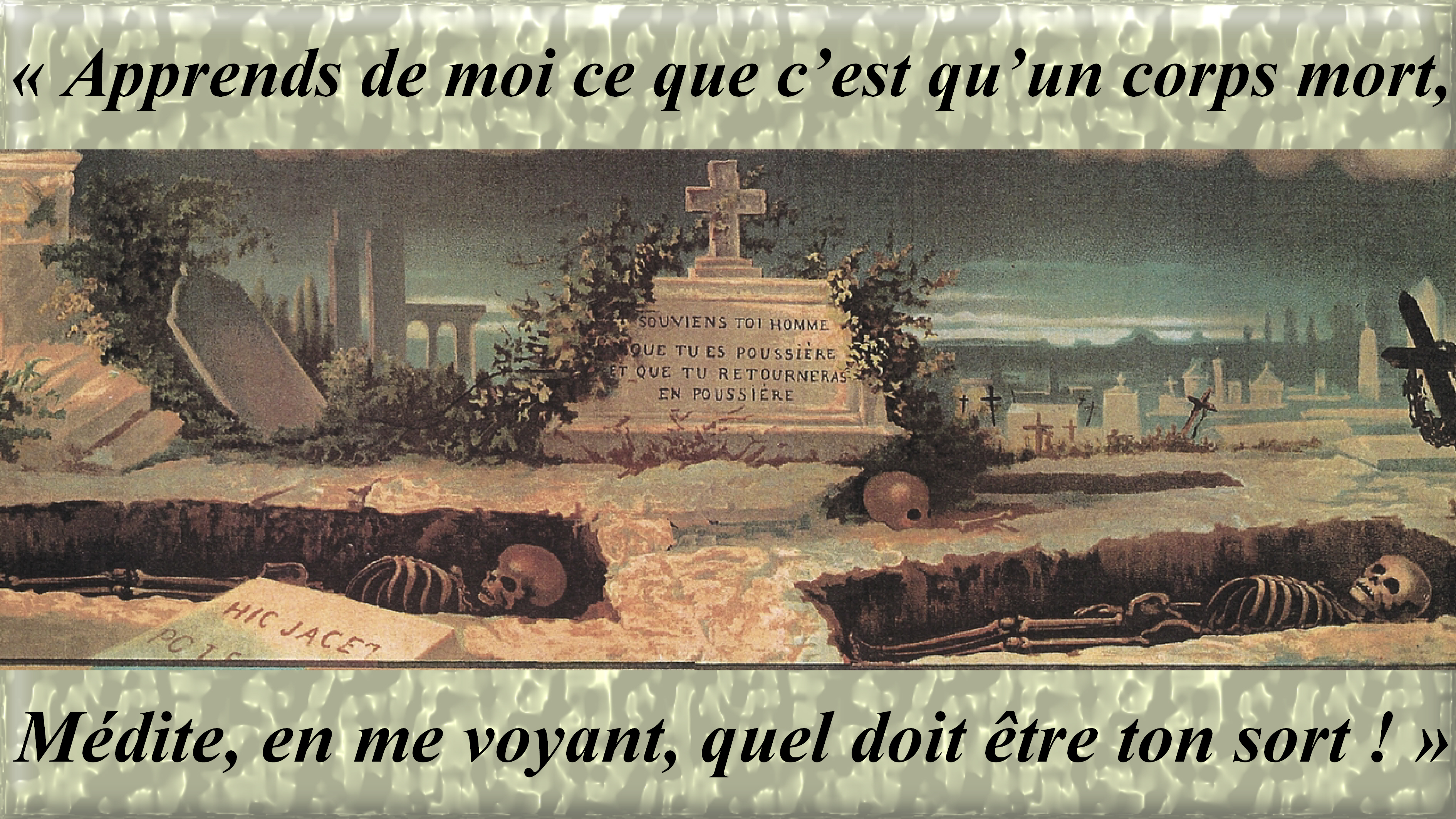 CALENDRIER CATHOLIQUE 2020 (Cantiques, Prières & Images) - Page 6 Tombeaux-5715c5b