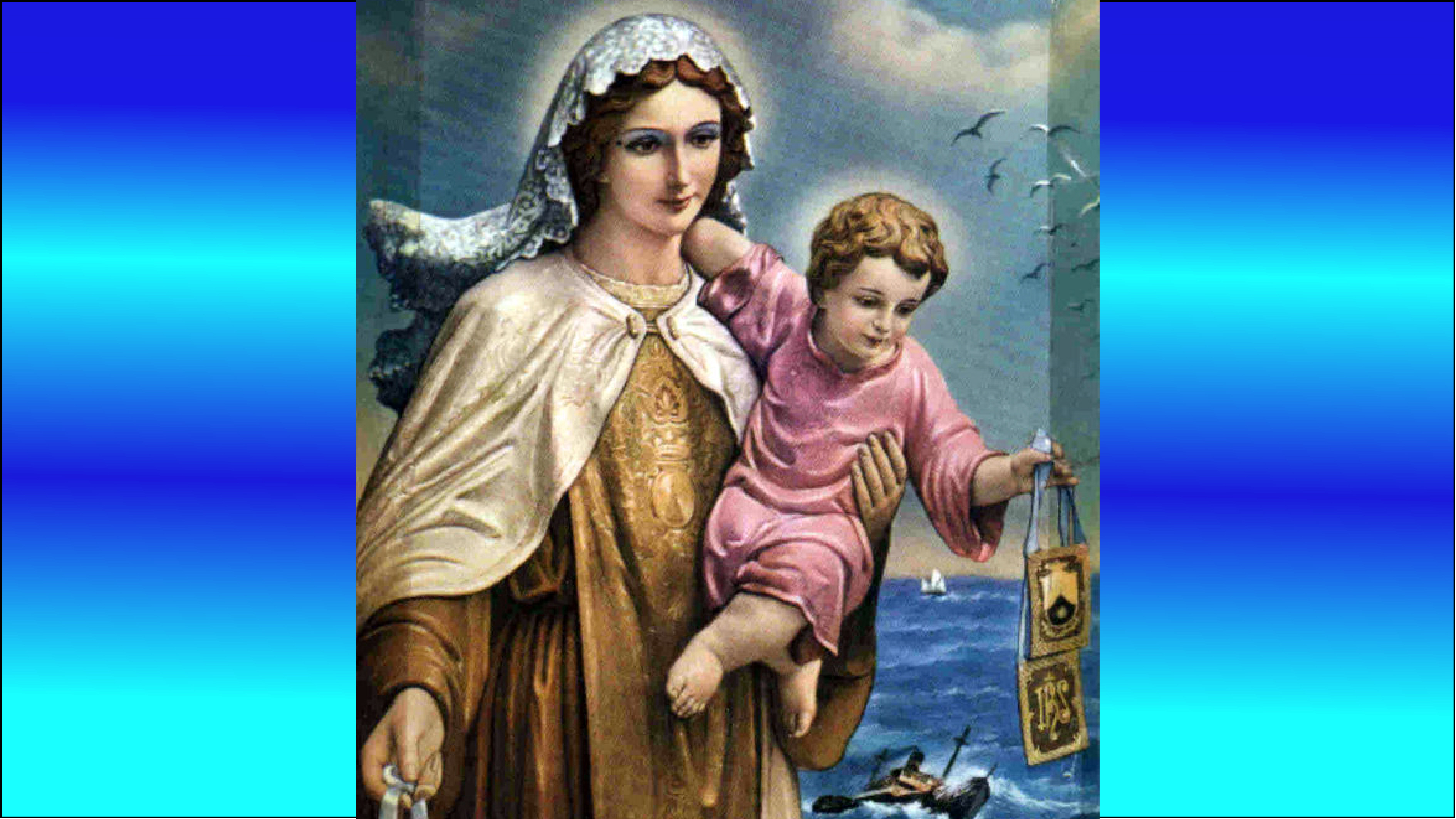 CALENDRIER CATHOLIQUE 2020 (Cantiques, Prières & Images) - Page 21 Notre-dame-du-scapulaire-5792510