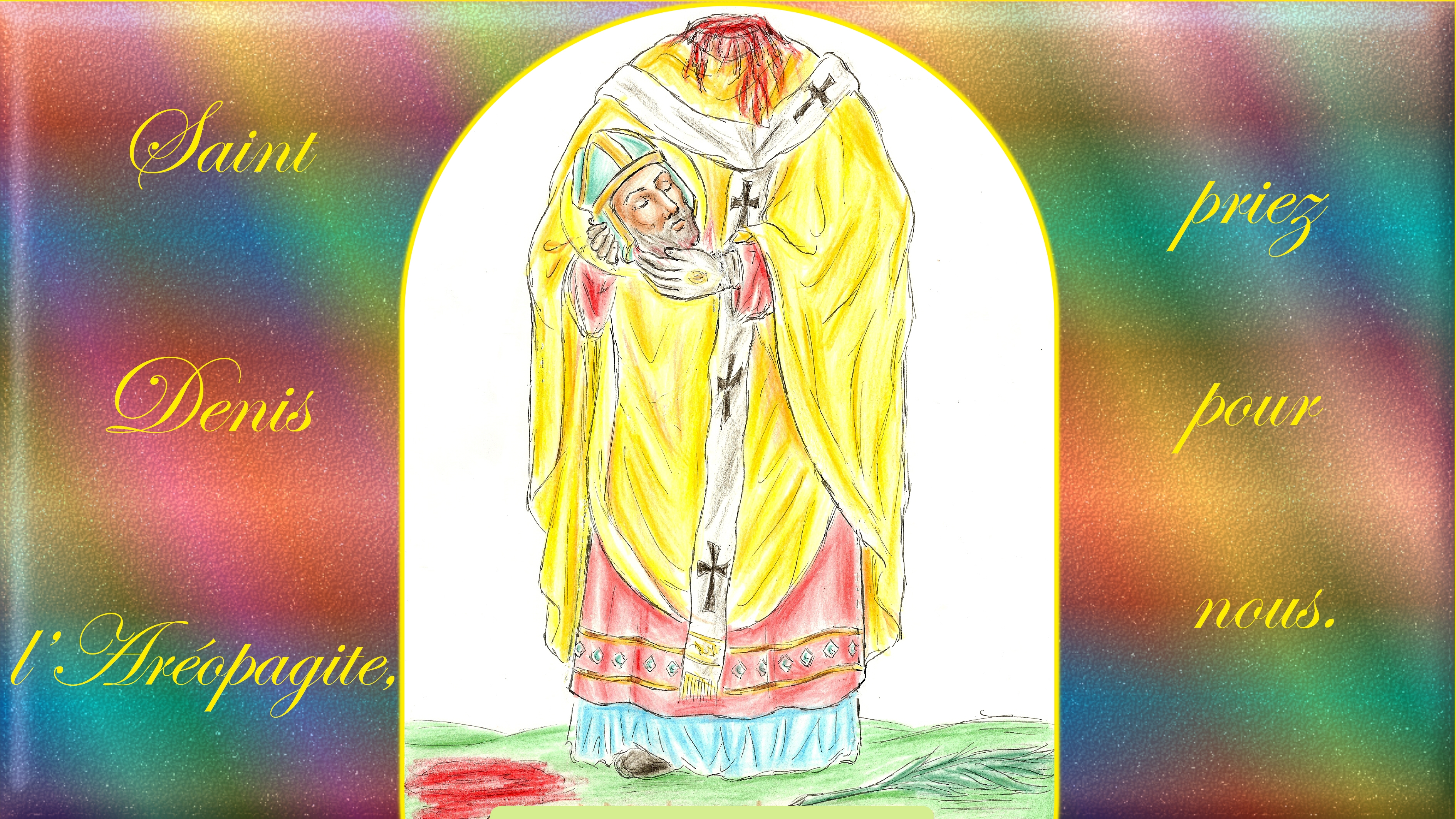 CALENDRIER CATHOLIQUE 2019 (Cantiques, Prières & Images) - Page 11 St-denis-l-ar-opagite-56a55fb