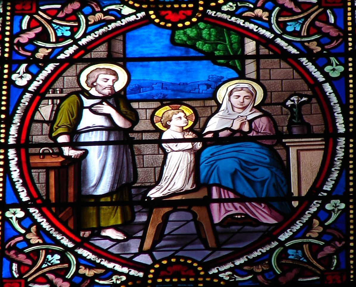 Le MOIS de SAINT JOSEPH par le R.P. Pedini (1854) - Page 2 La-ste-famille-en-pri-re-5722968
