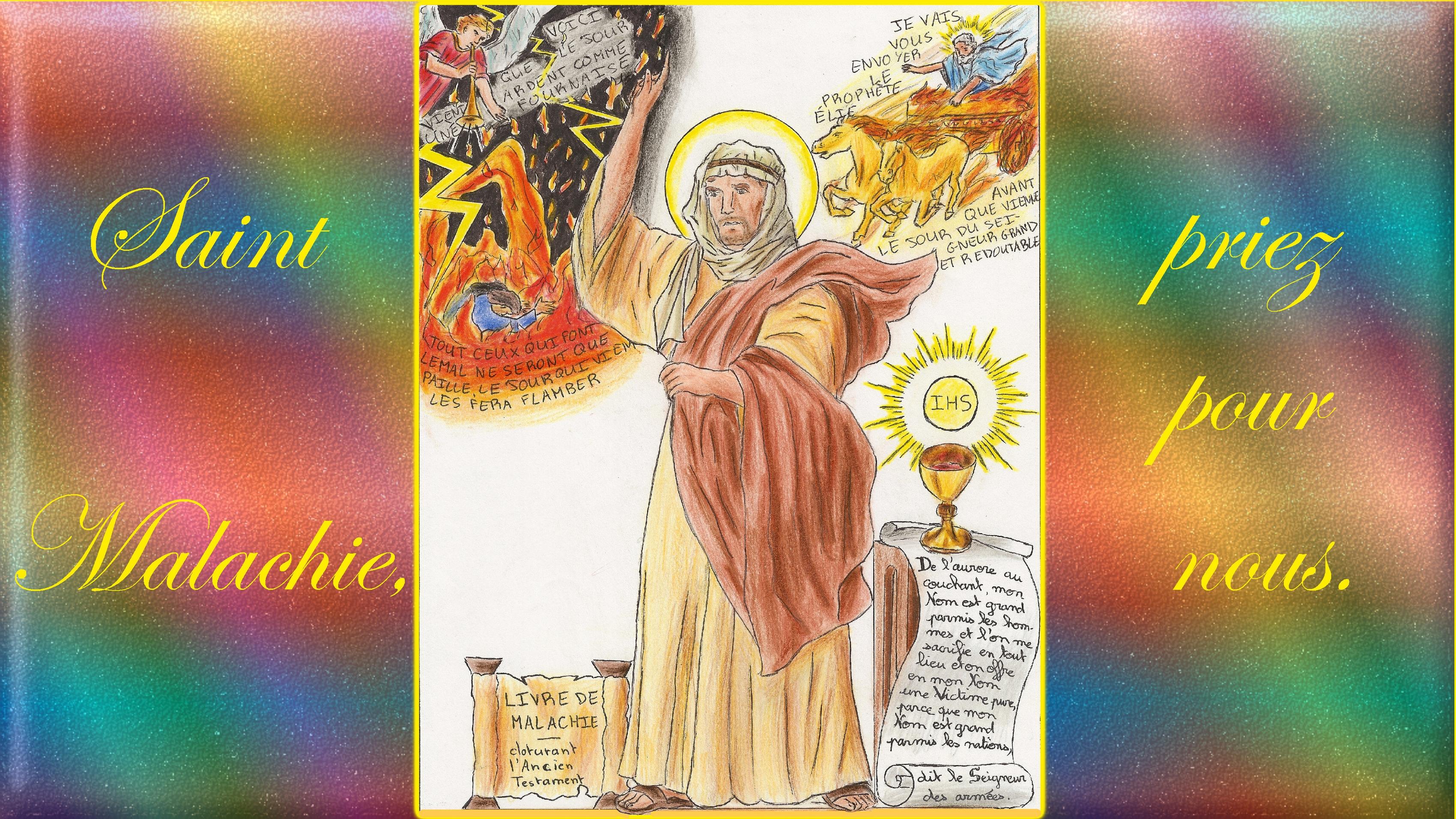 CALENDRIER CATHOLIQUE 2020 (Cantiques, Prières & Images) - Page 2 St-malachie-56f3864