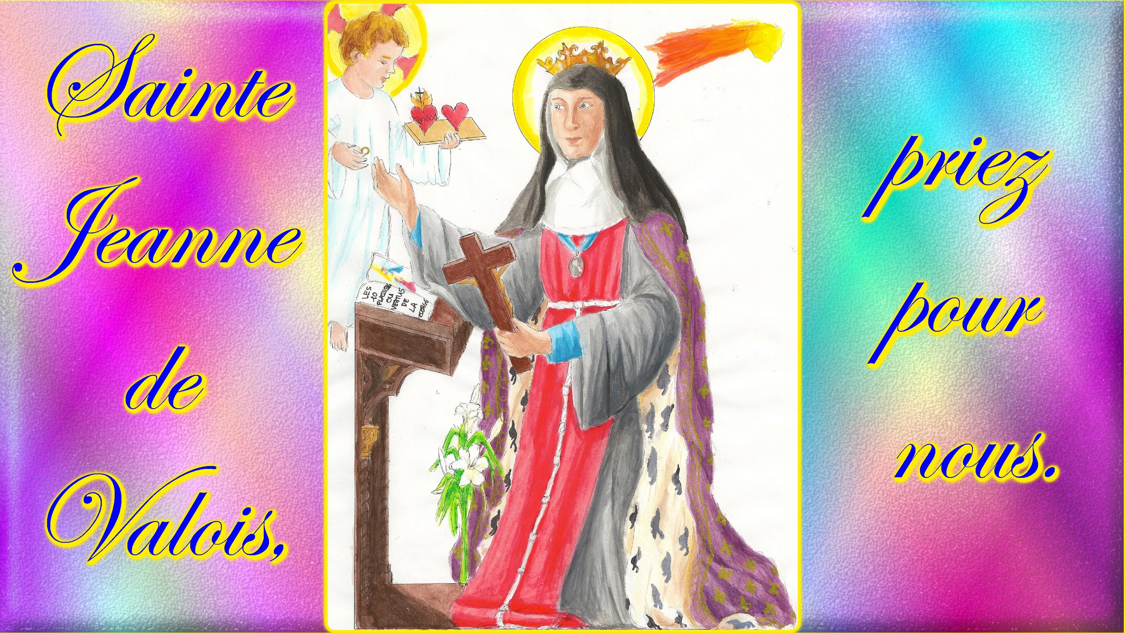 CALENDRIER CATHOLIQUE 2020 (Cantiques, Prières & Images) - Page 4 Ste-jeanne-de-valois-5704156