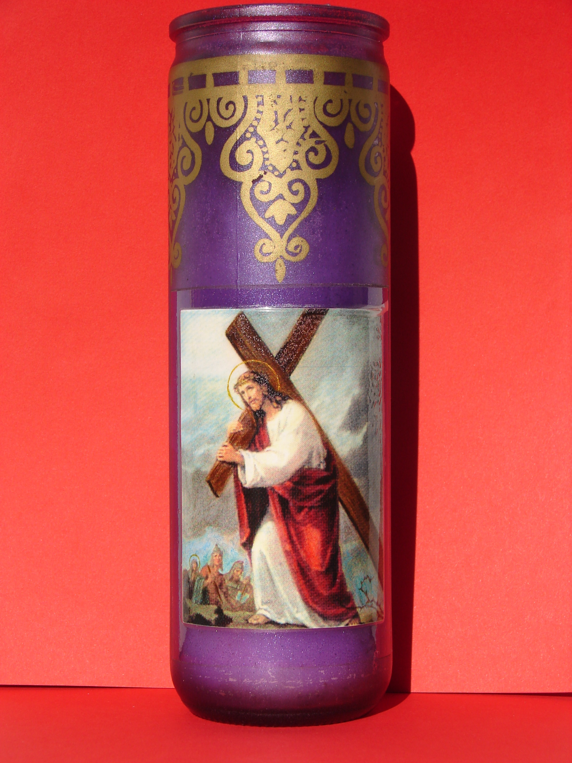 Le Rosaire en Images - Page 4 Cierge-du-portement-de-croix-56cf6a9