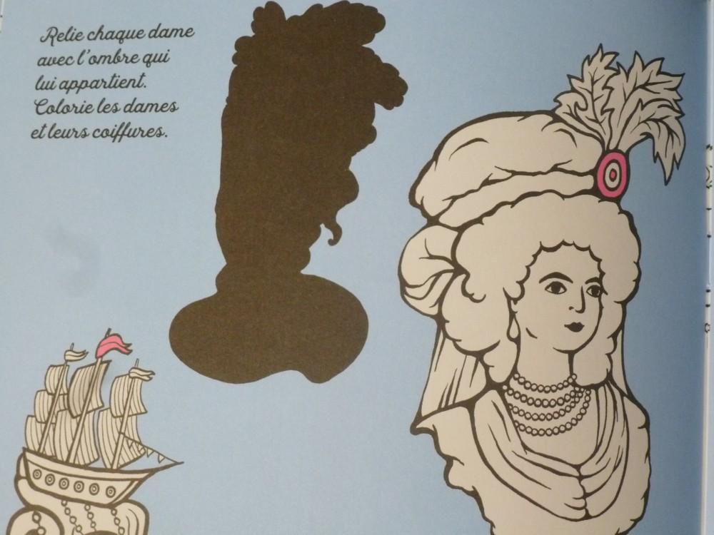 Un cahier d'activités Marie-Antoinette! Par les éditions du Patrimoine. P1070145-56c972c