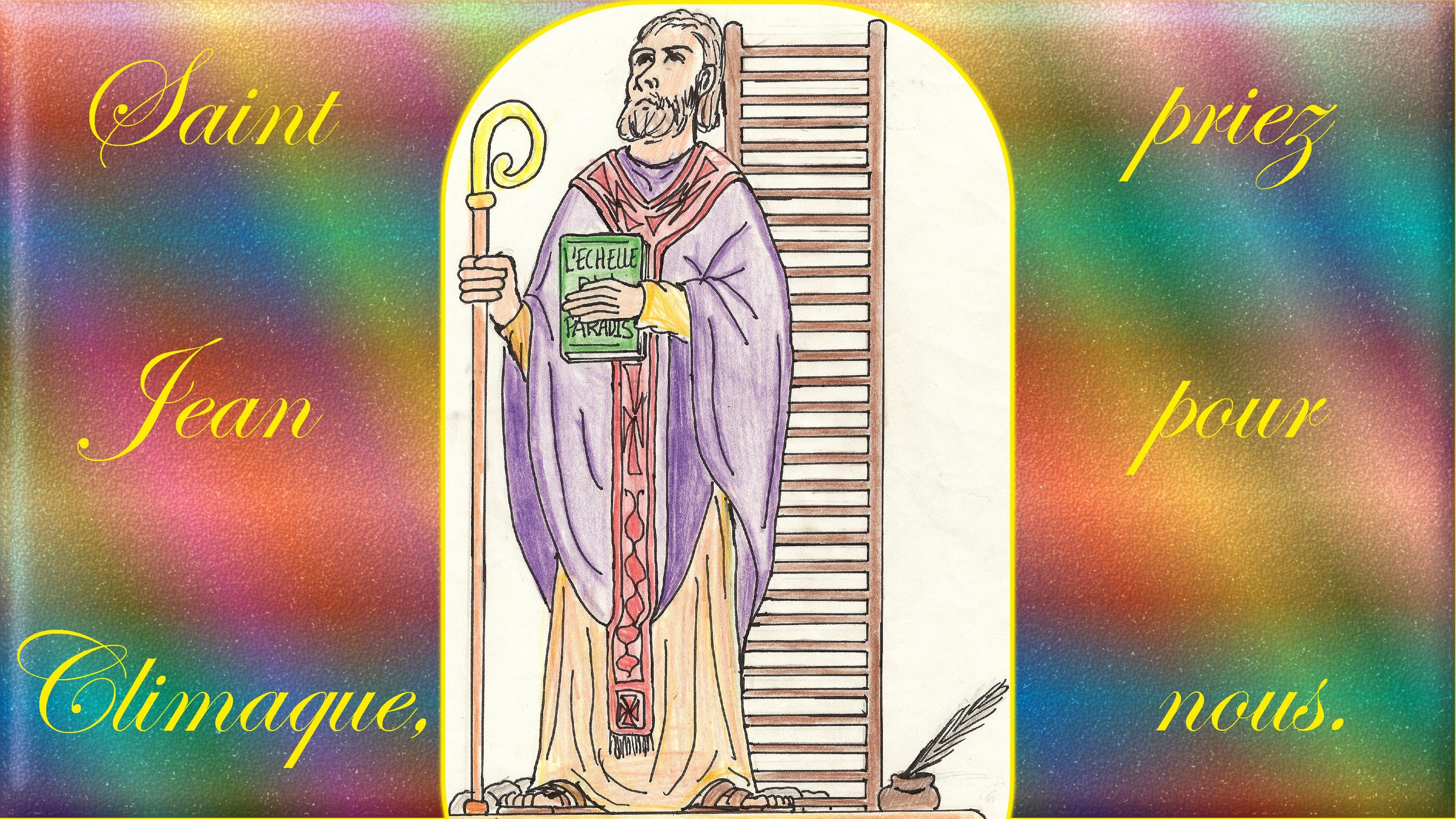 CALENDRIER CATHOLIQUE 2020 (Cantiques, Prières & Images) - Page 9 St-jean-climaque-57311b4