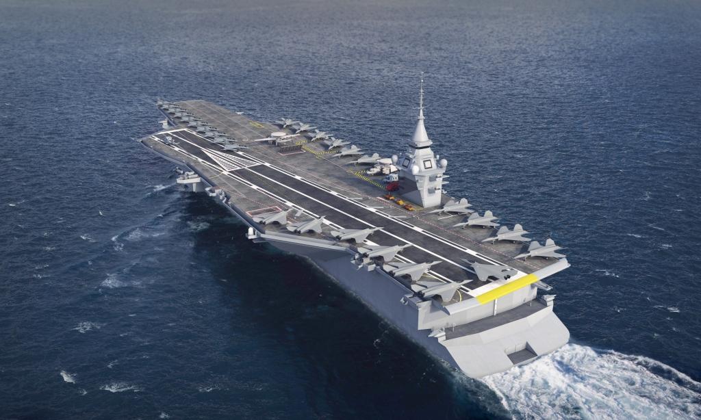 Un mastodonte de 75 000 tonnes pour remplacer le porte-avions Charles-de-Gaulle Pang-3-57f168d