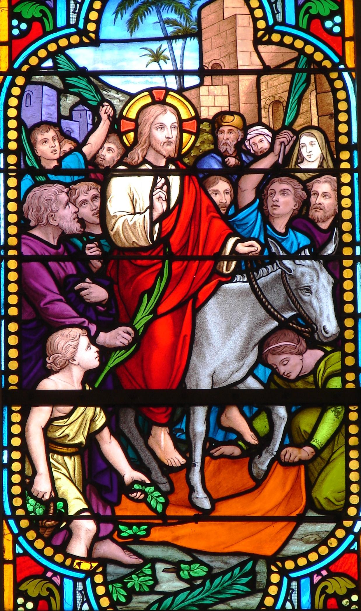 CALENDRIER CATHOLIQUE 2020 (Cantiques, Prières & Images) - Page 10 Les-rameaux-57378ab