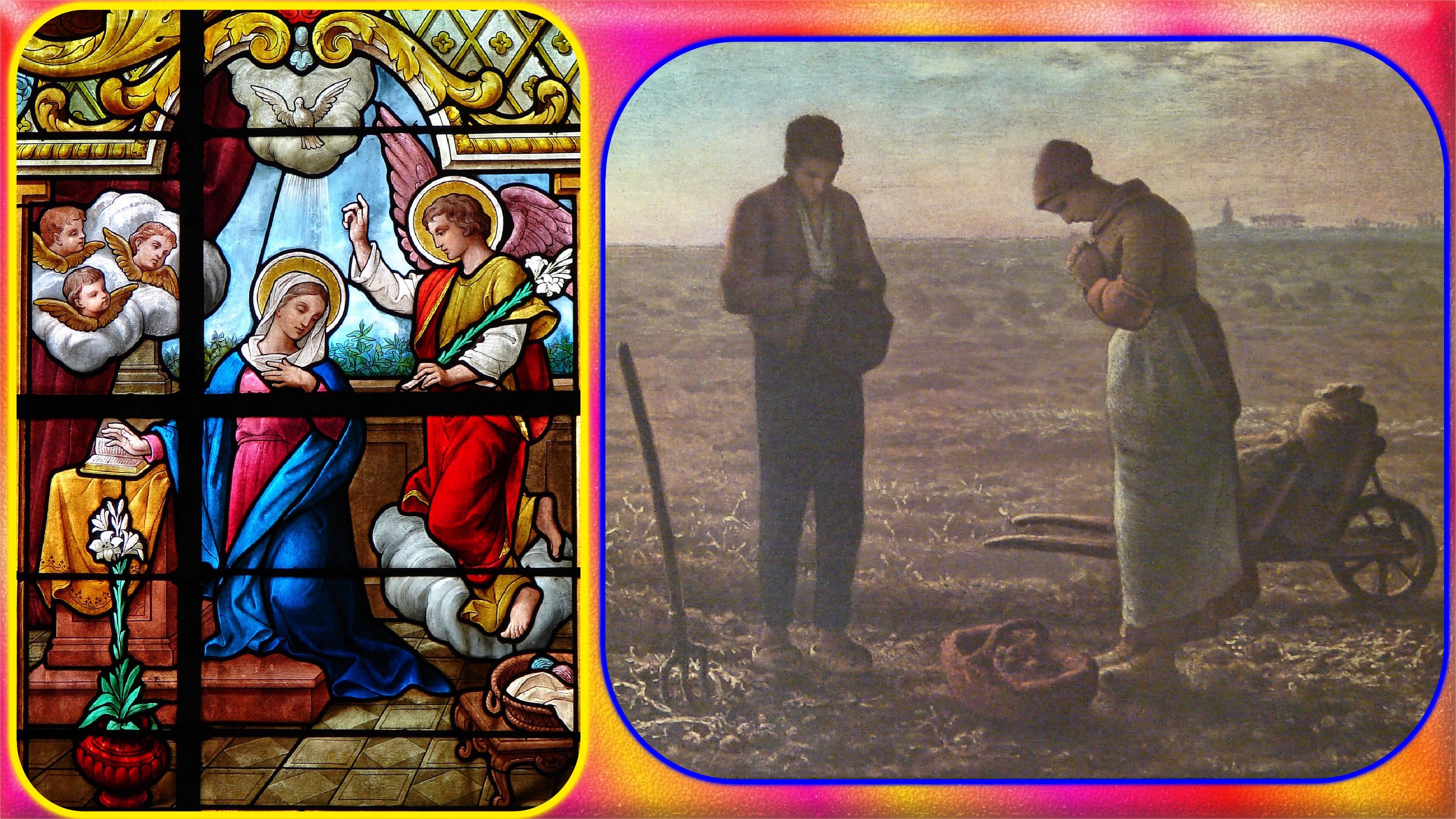 CALENDRIER CATHOLIQUE 2020 (Cantiques, Prières & Images) - Page 8 L-angelus-5723cb5