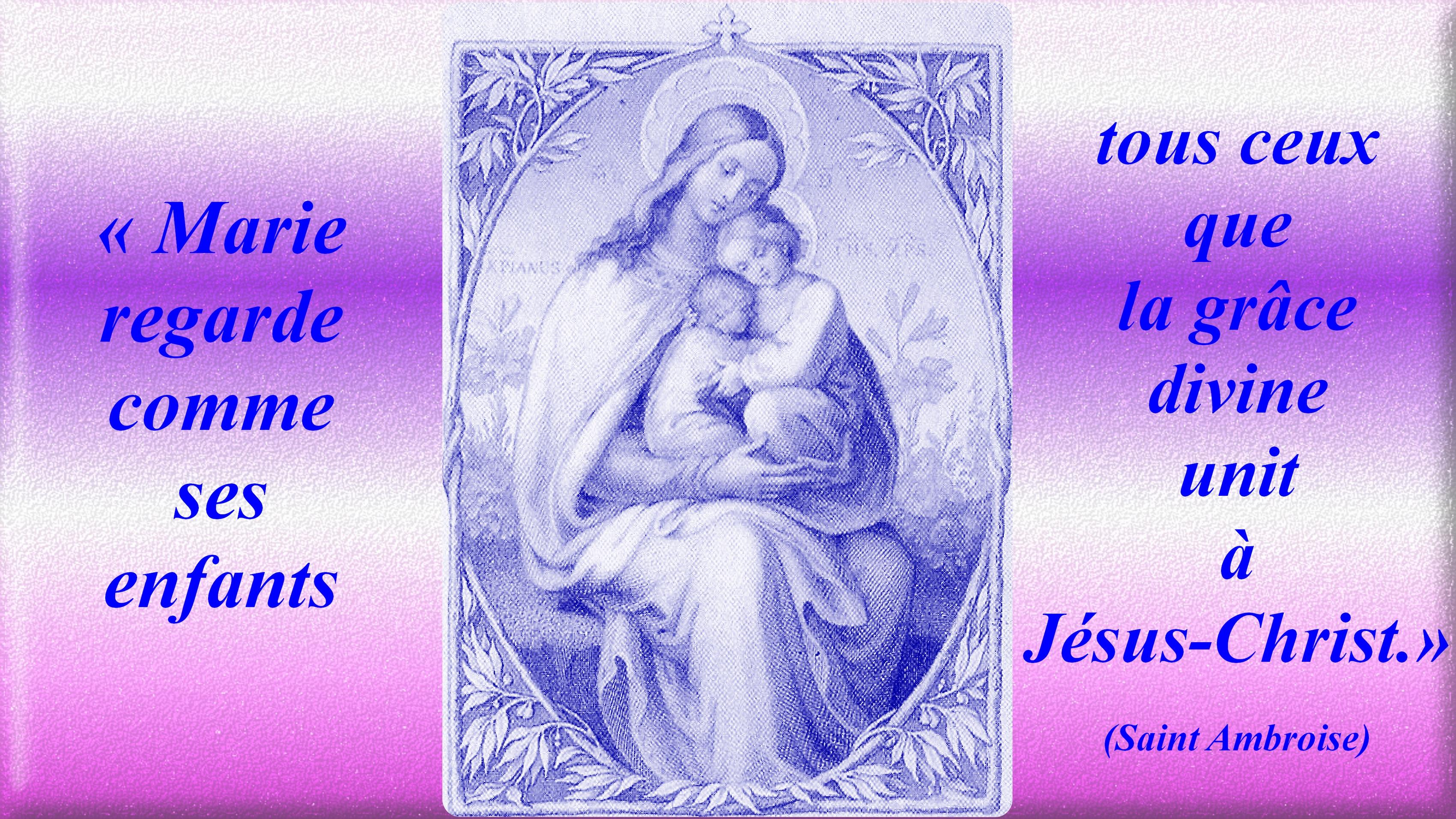 CALENDRIER CATHOLIQUE 2020 (Cantiques, Prières & Images) Les-vrais-enfants-de-marie-56e3287