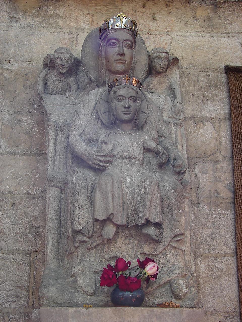 CALENDRIER CATHOLIQUE 2019 (Cantiques, Prières & Images) - Page 14 Notre-dame-du-bien-mourir-56ba403