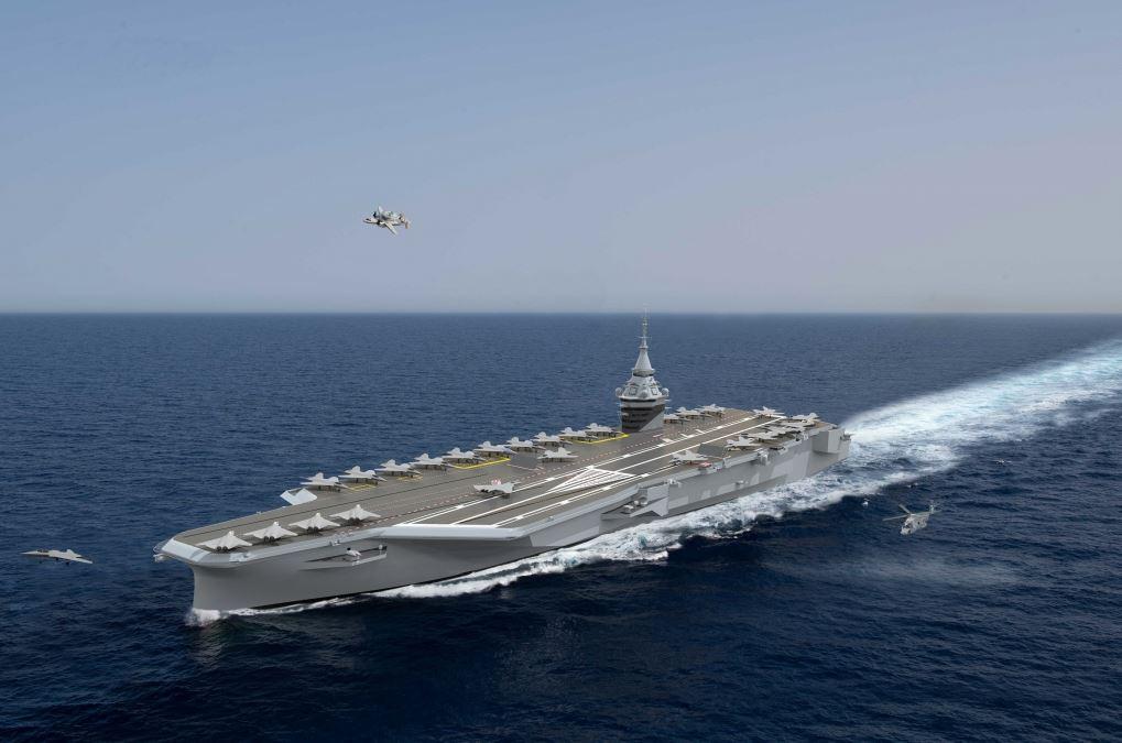 Un mastodonte de 75 000 tonnes pour remplacer le porte-avions Charles-de-Gaulle Pang-57f1687