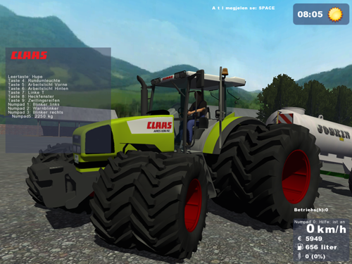 CLAAS Ares 836 RZ Aresepm6b