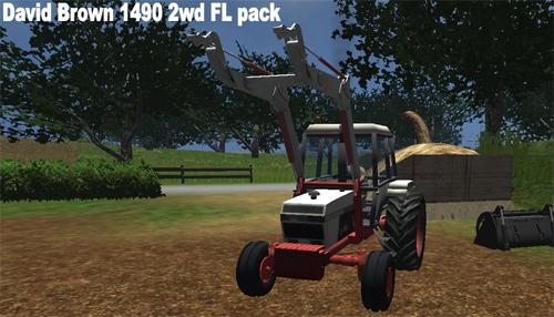 David Brown 1490 FL Pack 2wd Db223sg