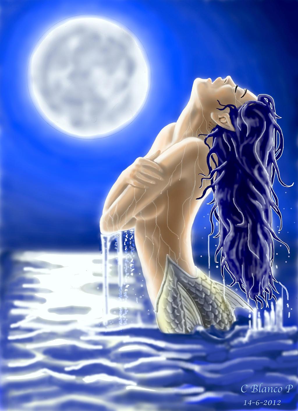 ****** SIRENAS ****** - Página 17 Sirena_bajo_luz_de_luna_by_boqueronbolson-d54wg0e