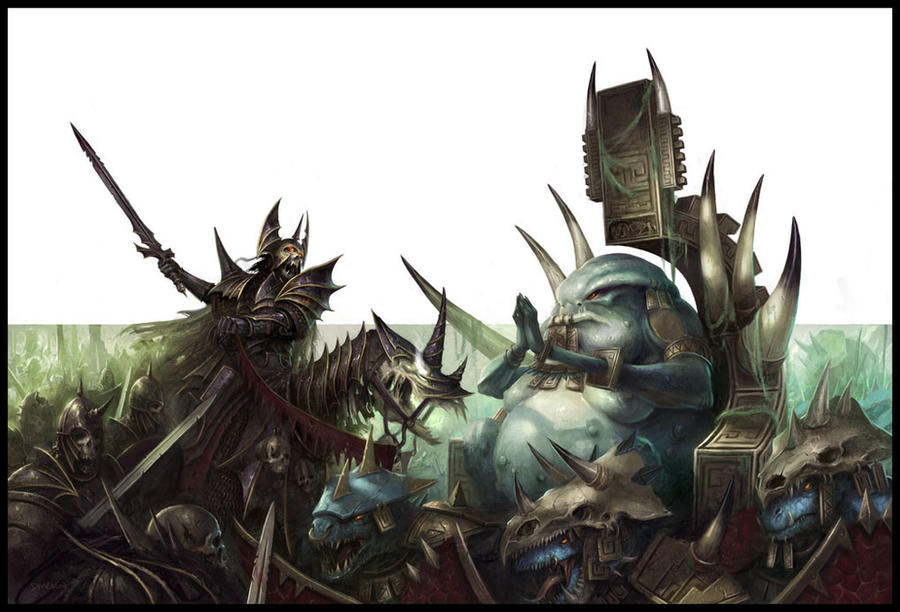 [Warhammer Fantasy Battle] Images diverses - Page 2 March_of_the_damned_by_daarken