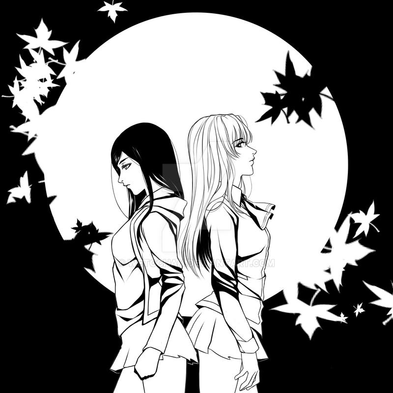 Post Shizuru and Natsuki [ShizNat] fanart, images, EVERYTHING! - Page 32 Shattered_moon_by_wetochan-d945qab