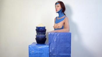 Naked  Performance Art - Full Original Collections Fzgcw5j0t01m