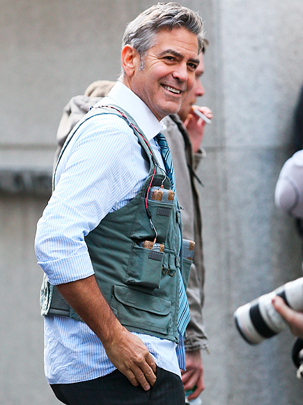 George Clooney on Money Monster Set April 10th & 11th  2015 George-clooney-435