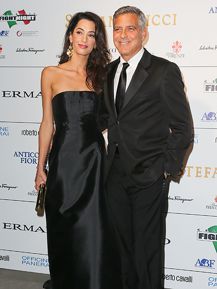 George Clooney and Amal to visit the Celebrity Fight Night Foundation in Florence - Page 3 George-clooney-435