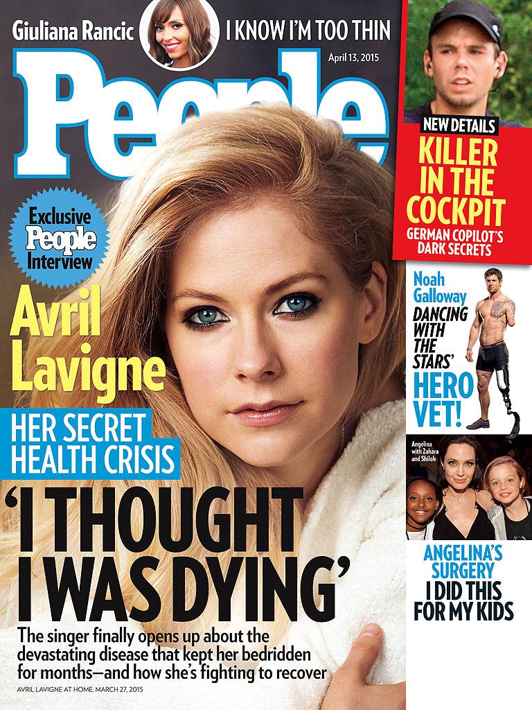 Avril Lavigne diagnosticada con enfermedad de Lyme Cover-01-768