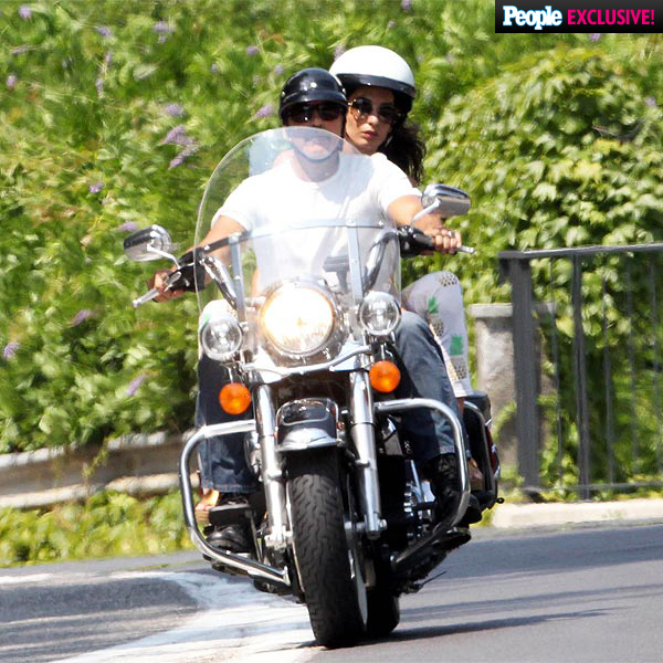 George and Amal on Motorcyle July 28 2015 George-clooney-0-600
