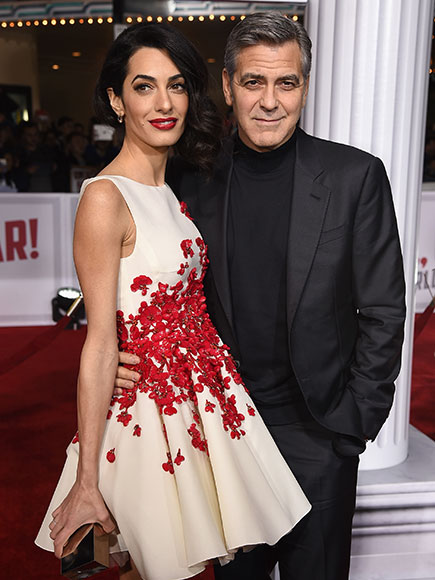 George Clooney spotted at the Tower Bar in LA to celebrate Amal's birthday Amal-george-435