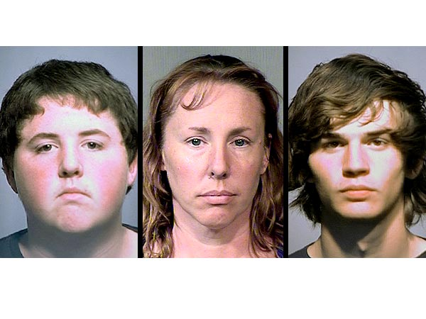 Arizona Family, 41 yr old Wife & Mother Michelle Gibson, Son Steven Jr, 15 & friend Erik McBee, 16 Plotted Dad's Brutal Murder Michelle-gibson-600