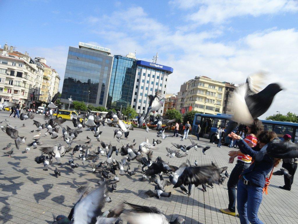 ميدان تقسيم أكثر الأماكن حيوية في اسطنبول، تعرفوا عليه 1244586909