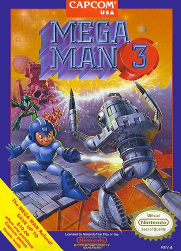 You have 20 lives, what do you do. GO! Mega-man-3-usa