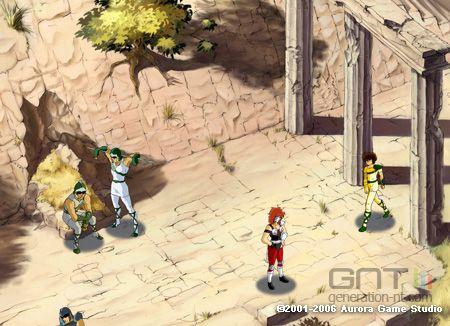 Saint Seiya  (Les Chevaliers du Zodiaque ) dans les jeux vidéo. Saint-seiya-rpg-scan-3_0901C2014600031709