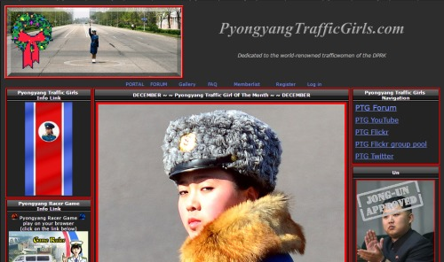 ARCHIVE of WEB STORIES/FEATURES about the PYONGYANG TRAFFIC LADIES  P1316931a927842265-ss