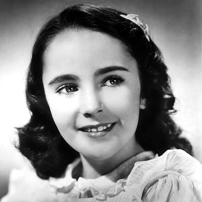 Знаменитости в детстве - Страница 2 1942-elizabeth-taylor-400
