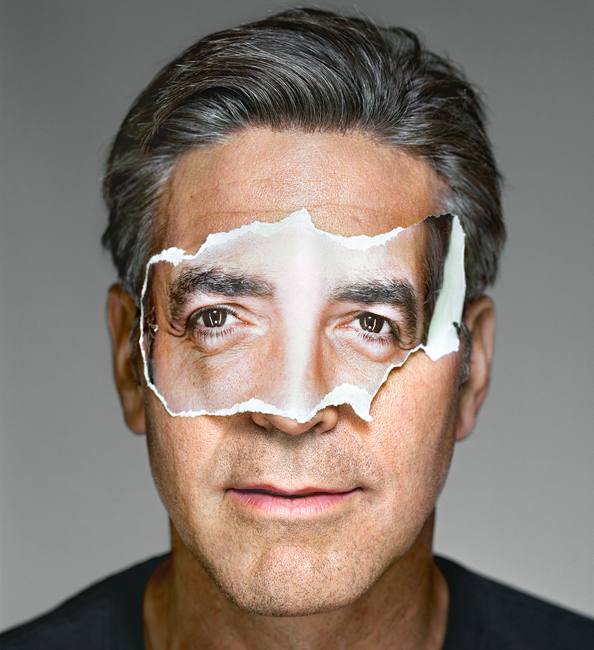 George Clooney with Mask; Brooklyn, NY, 2008 111314-george-clooney-594